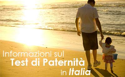 Test di Paternità   Italia